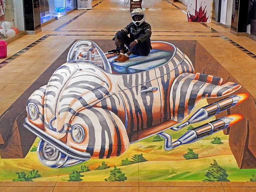 3D Streetpainting Street art festival
